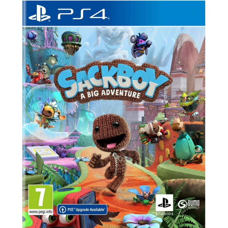 Sackboy A Big Adventure PS4 / PS5 ENG | RUS įgarsinimas