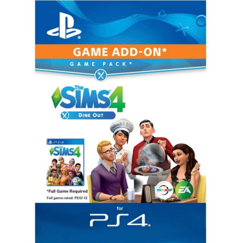 The SIMS 4 Dine Out PS4 skaitmeninis