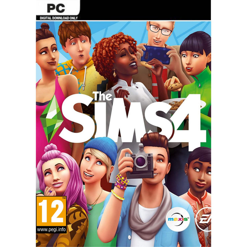 The Sims 4 Standard Edition PC skaitmeninis