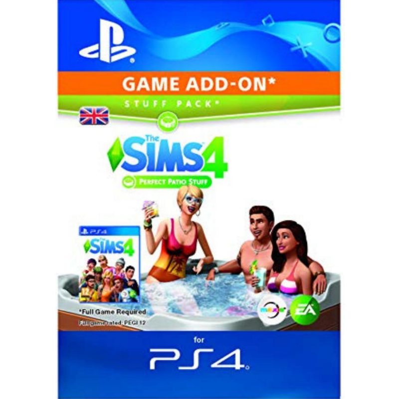 The SIMS 4 Perfect Patio PS4 skaitmeninis