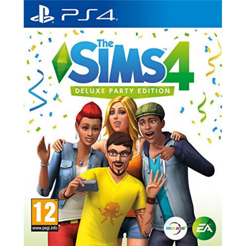 The SIMS 4 Deluxe Party Edition Upgrade PS4 skaitmeninis