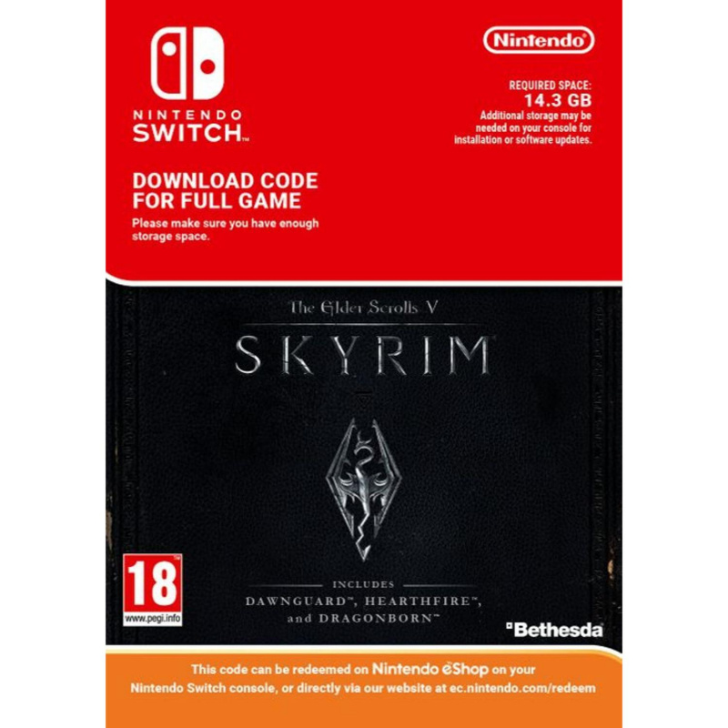 The Elder Scrolls V: Skyrim Switch skaitmeninis