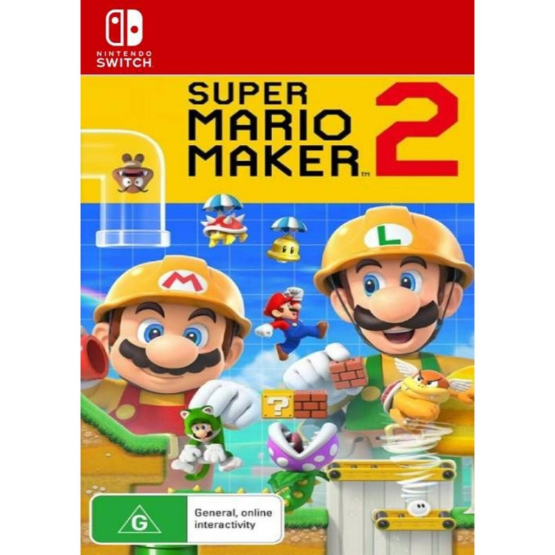 Super Mario Maker 2 Switch skaitmeninis