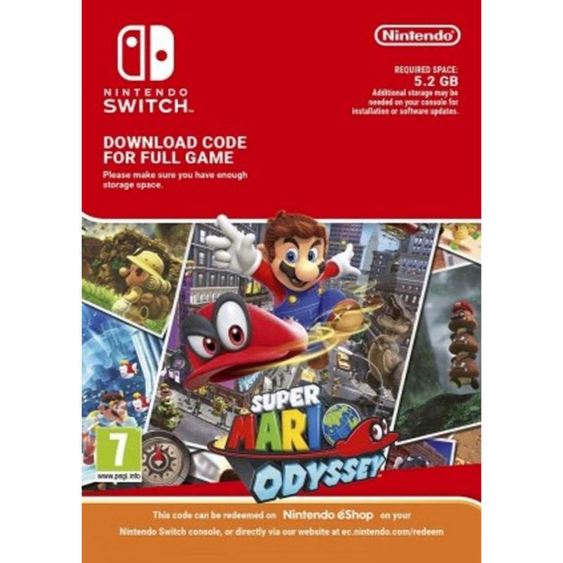 Super Mario Odyssey Switch skaitmeninis