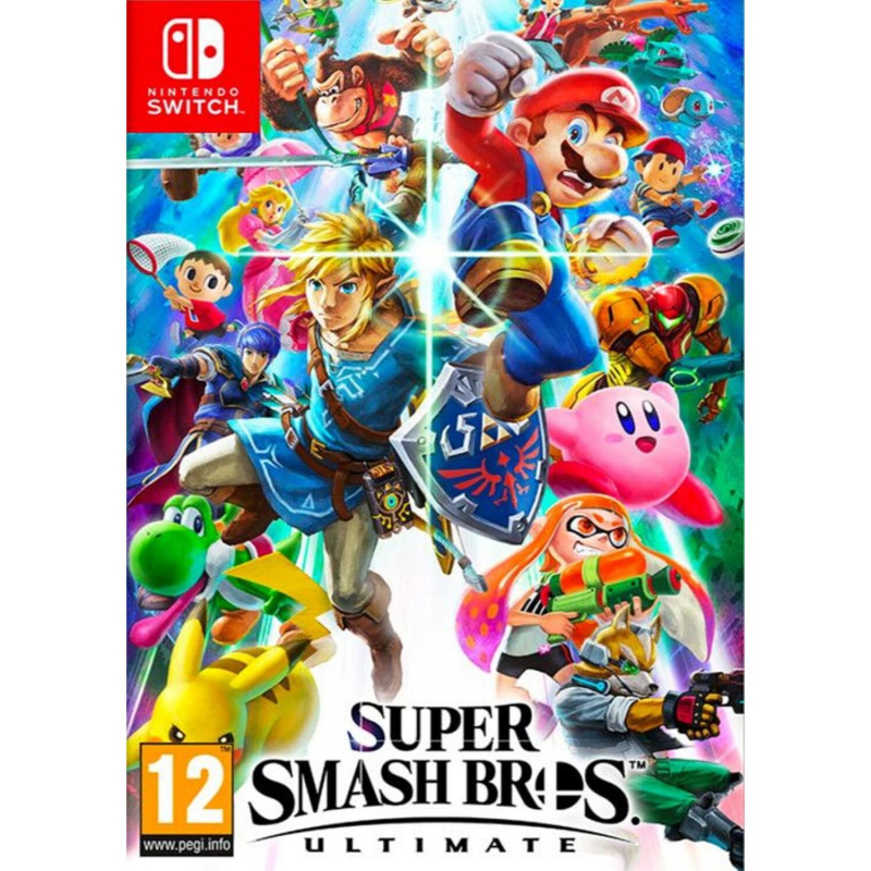 Super Smash Bros. Ultimate Switch skaitmeninis