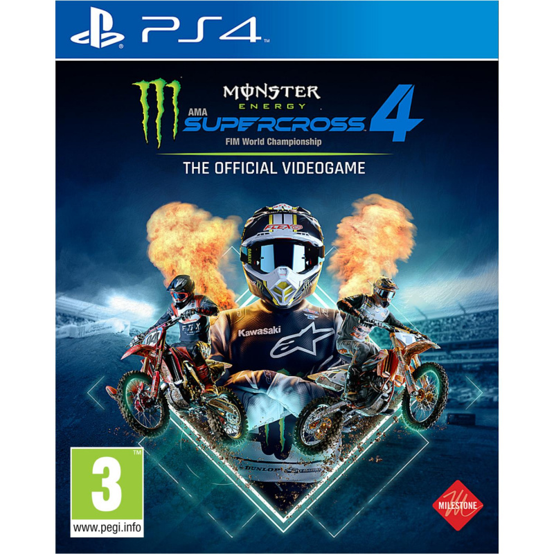 Monster Energy Supercross The Official Videogame 4 PS4