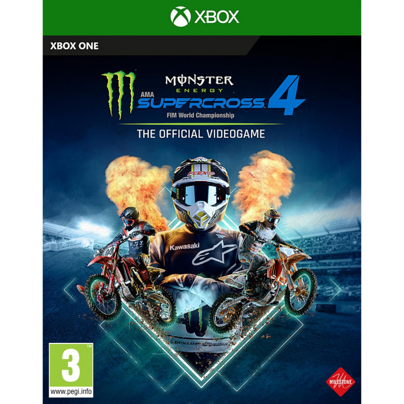 Monster Energy Supercross The Official Videogame 4 Xbox One