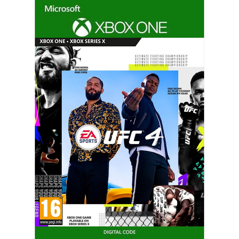 UFC 4 Xbox One (kodas)
