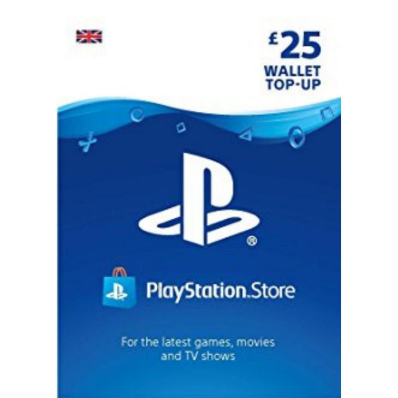 Playstation piniginės £25 papildymas