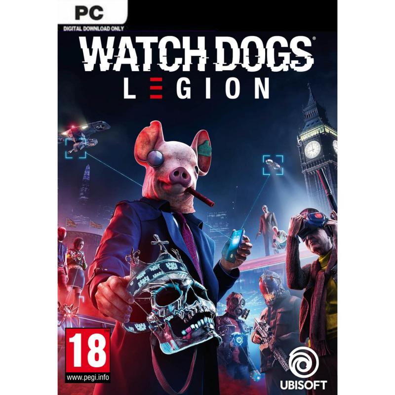 Watch Dogs: Legion PC (kodas) Europos regionas