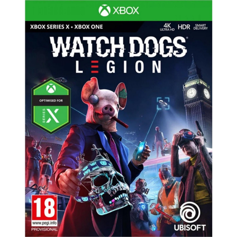 Watch Dogs: Legion Xbox One / Xbox Series X ENG | RUS įgarsinimas