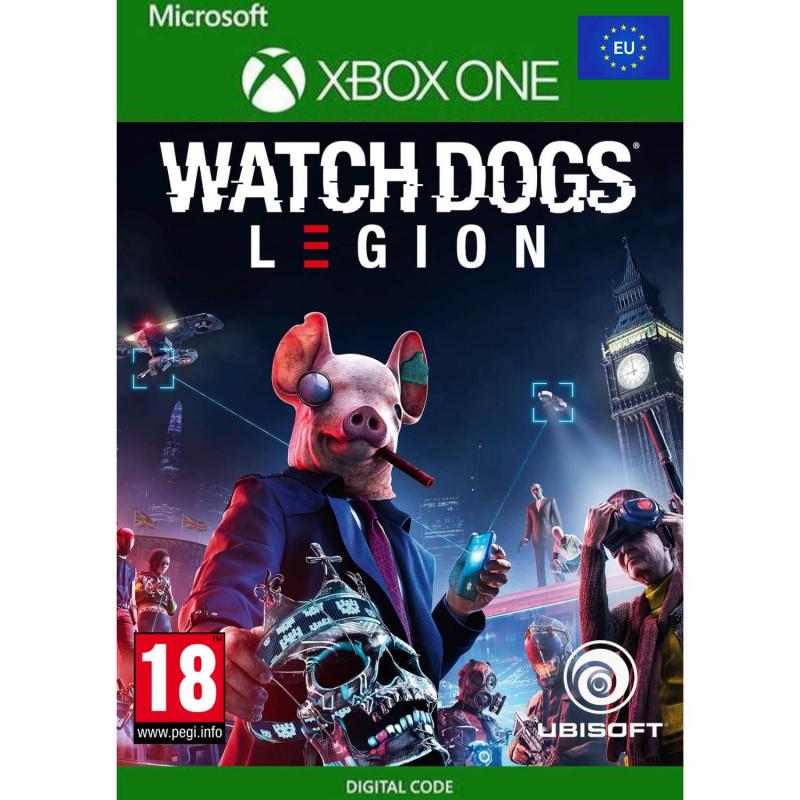 Watch Dogs: Legion (kodas) EU regionas