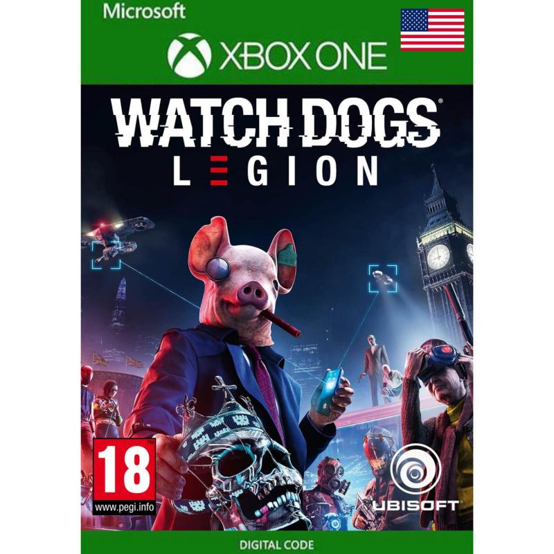 Watch Dogs: Legion (kodas) US regionas