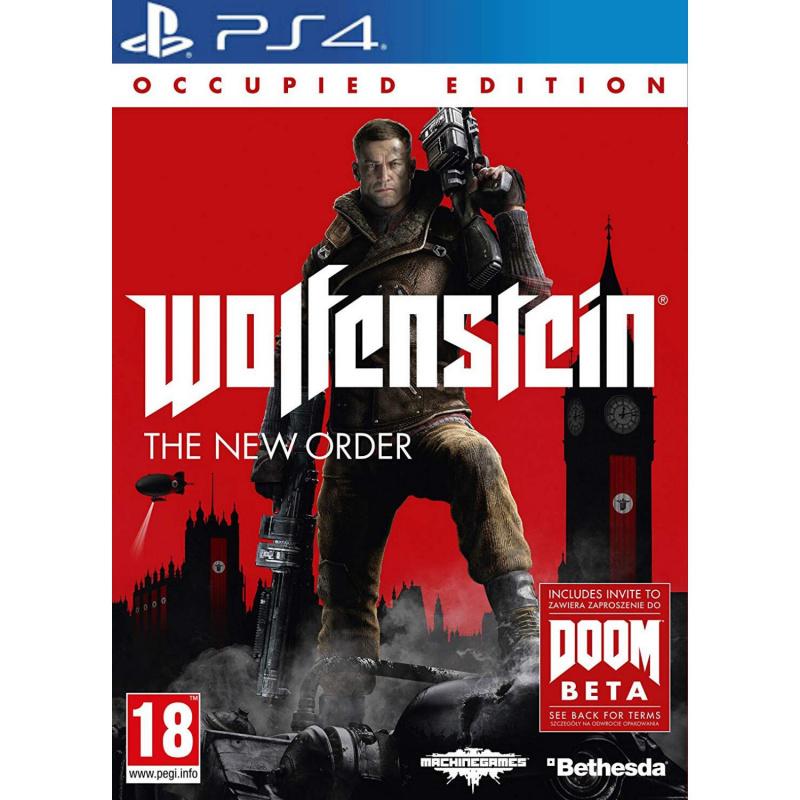 Wolfenstein The New Order Occupied Edition PS4