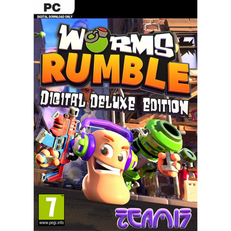 Worms Rumble Deluxe Edition PC (kodas)