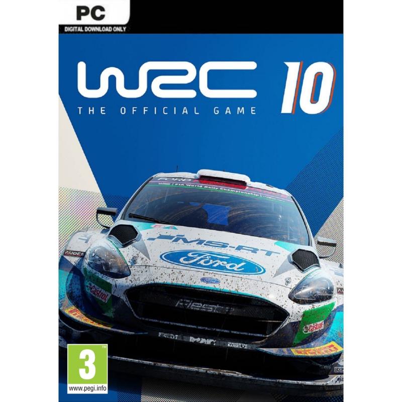 WRC 10 PC (kodas) Steam