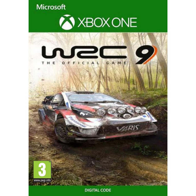WRC 9 Xbox One skaitmeninis