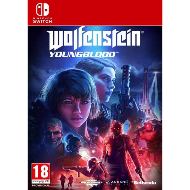 Wolfenstein: Youngblood Switch skaitmeninis
