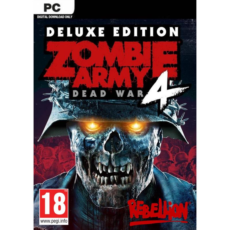 Zombie Army 4: Dead War Deluxe Edition PC (kodas)