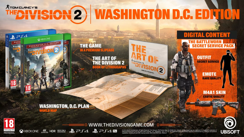 Tom Clancy's The Division 2 Washington D. C. Edition PS4