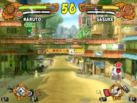 Naruto Shippuden: Ultimate Ninja 4 PS2