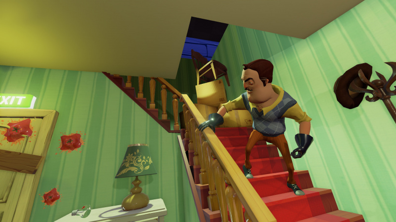Hello Neighbor Hide and Seek Switch