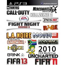 20 PS3 žaidimų rinkinys