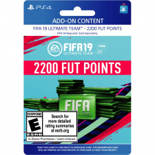FIFA 19 2200 FUT points PS4 skaitmeninis