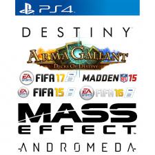 7 PS4 žaidimų rinkinys