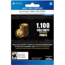 1,100 Call of Duty WWII Points