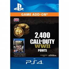 2,400 Call of Duty WWII Points