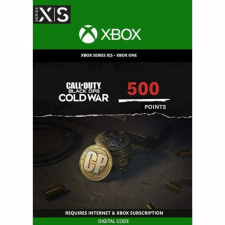 Call of Duty: Black Ops Cold War - 500 points Xbox One (kodas)