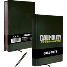 Call of Duty Infinite Warfare užrašinė + tušinukas