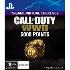 5,000 Call of Duty WWII Points