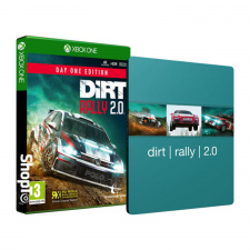 DiRT Rally 2.0 Day One Edition Steelbook Xbox One