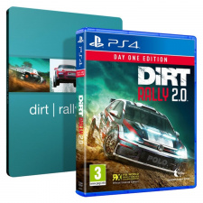 DiRT Rally 2.0 Day One Edition Steelbook PS4