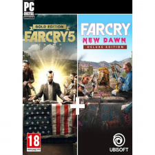 Far Cry New Dawn Deluxe + Far Cry 5 Gold Edition PC skaitmeninis
