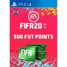 FIFA 20 Ultimate Team - 500 FIFA points PS4 skaitmeninis