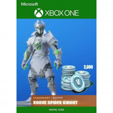 Fortnite: Legendary Rogue Spider Knight Outfit + 2000 V-Bucks Xbox One skaitmeninis