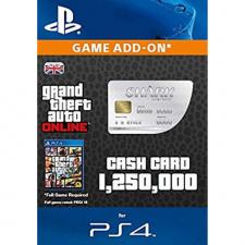 GTA Online Great White Shark Cash Card - $1.250.000