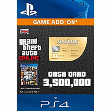 GTA Online Whale Shark Cash Card - $3.500.000