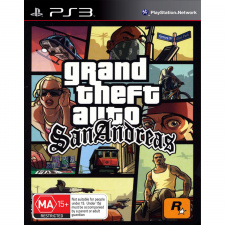 Grand Theft Auto (GTA): San Andreas PS3