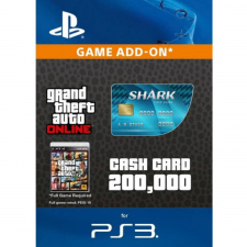GTA Online Tiger Shark Cash Card - $200.000