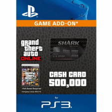 GTA Online Bull Shark Cash Card - $500.000