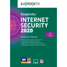Kaspersky Internet Security 2020 1 PC 1 metams skaitmeninis