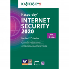 Kaspersky Internet Security 2020 1 PC 6 mėnesiams skaitmeninis