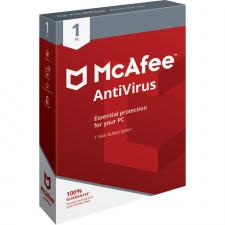 McAfee AntiVirus 1 įrenginys 1 metams PC skaitmeninis