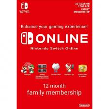 Nintendo Switch Online 12 mėnesių šeimos prenumerata skaitmeninis