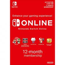 Nintendo Switch Online 12 mėnesių prenumerata skaitmeninis