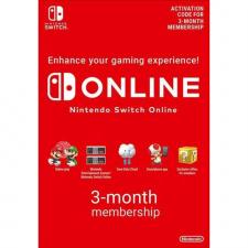 Nintendo Switch Online 3 mėnesių prenumerata skaitmeninis